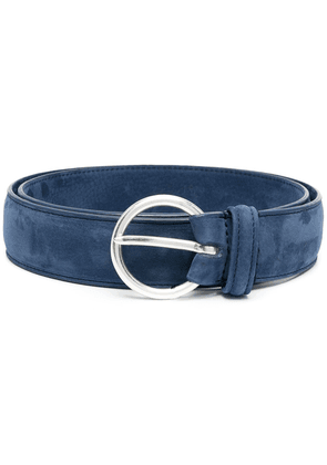 Anderson's suede leather belt - Blue