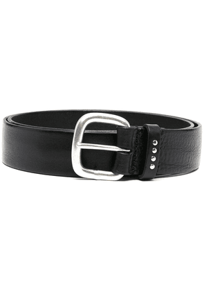 Anderson's creased leather belt - Black
