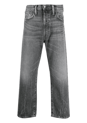 Acne Studios loose-fit cropped jeans - Grey