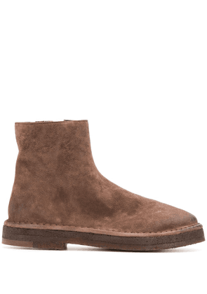 Marsèll zipped ankle boots - Brown