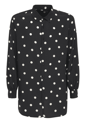 Polka Dots Silk Shirt