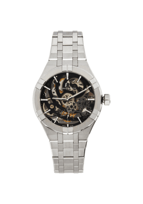 Maurice Lacroix Silver Aikon Automatic Skeleton Watch