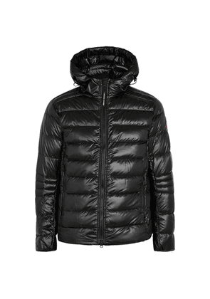 Canada Goose Crofton Black Quilted Shell Jacket