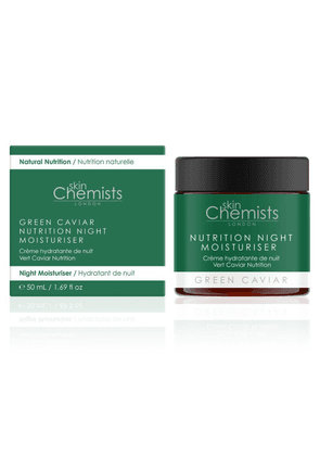 Skin Chemists Skinchemists Green Caviar Nutrition Night Moisturiser 50ml