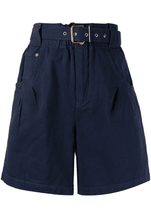Alice McCall Bronte belted shorts - Blue
