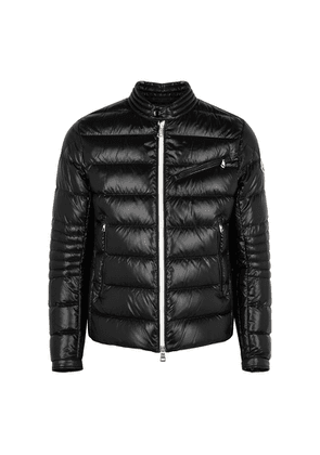 Moncler Berriat Black Quilted Shell Jacket