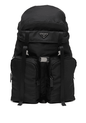 Prada Re-Nylon multi-pocket backpack - Black