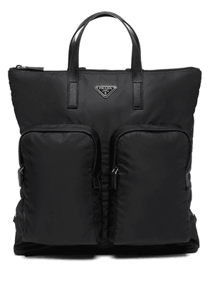 Prada triangle-logo backpack - Black