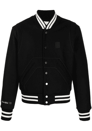 Filling Pieces striped-edge sports jacket - Black