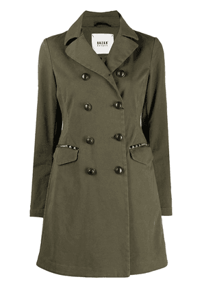 Bazar Deluxe buttoned-up military coat - Green