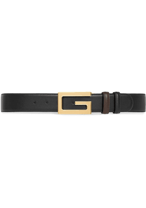 Gucci Square G buckle belt - Black