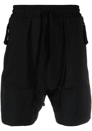Thom Krom elasticated waistband track shorts - Black