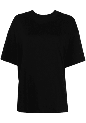 Atm Anthony Thomas Melillo drop-shoulder cotton t-shirt - Black