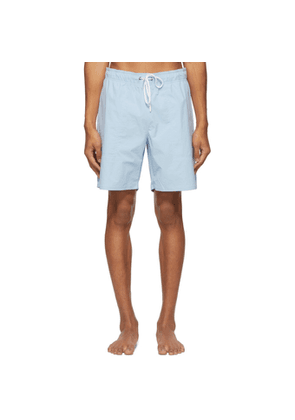 Saturdays NYC Blue Richie Swim Shorts