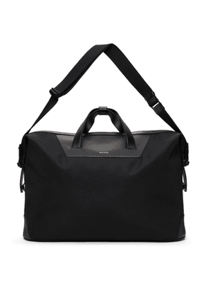 Paul Smith Black Canvas Signature Stripe Holdall Briefcase
