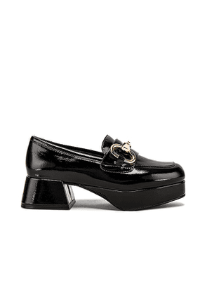 Jeffrey Campbell Student Loafer in Black. Size 10, 7.5.