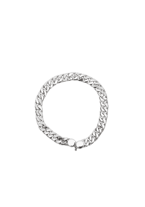 Tom Wood Curb 7 Sterling Silver Chain Bracelet