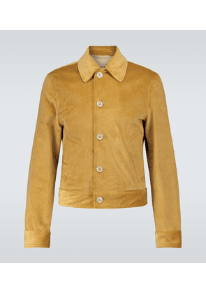 Corduroy short jacket
