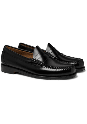 G.H. Bass & Co. - Weejuns Heritage Larson Leather Penny Loafers - Men - Black