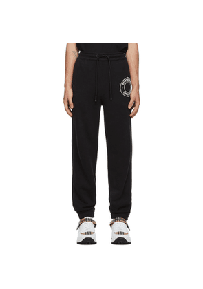 Burberry Black Logo Lounge Pants
