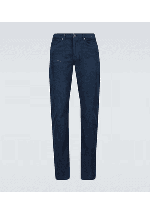 Slim-fit corduroy jeans