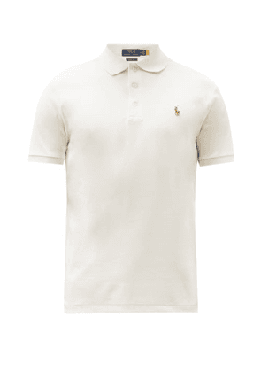 Polo Ralph Lauren - Custom Slim-fit Cotton-interlock Polo Shirt - Mens - Cream