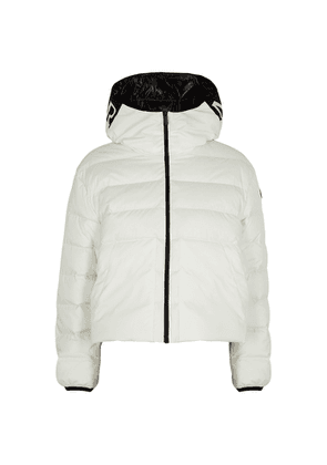 Moncler Anwar White Quilted Shell Jacket