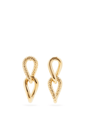 By Alona - Taylor 18kt Gold-plated Drop Earrings - Womens - Yellow Gold