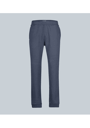 Cotton loopback sweatpants