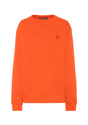 Fairview Face cotton-jersey sweatshirt