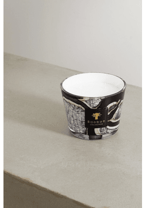 Baobab Collection - Stones Marble Max 10 Scented Candle, 1.3kg - Black