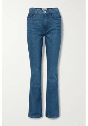 Reformation - + Net Sustain Peyton High-rise Bootcut Jeans - Mid denim