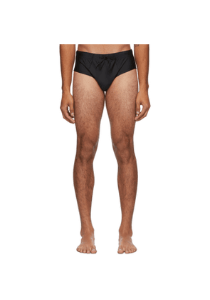 CDLP Black Riva Swim Briefs