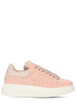 45mm Suede & Leather Sneakers