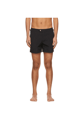 Tom Ford Black Nylon Swim Shorts