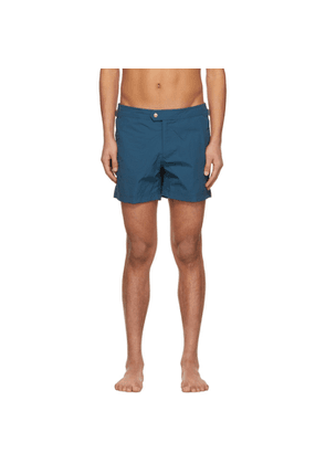 Tom Ford Blue Nylon Swim Shorts