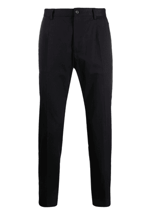 Dolce & Gabbana logo patch tailored trousers - Black