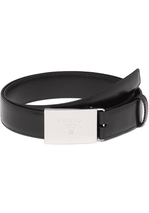 Prada leather belt set - Black