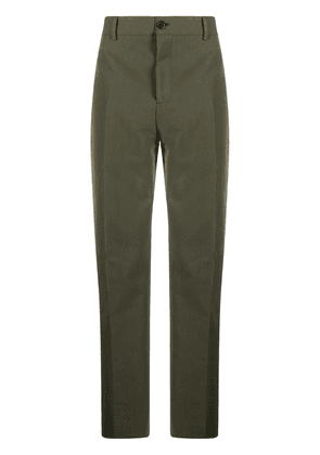 Acne Studios tailored straight-leg trousers - Green