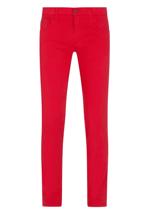 Dolce & Gabbana slim-fit cut jeans - R2254 BRIGHT RED