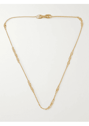 TOM WOOD - Rolo Gold-Plated Chain Necklace - Men - Gold