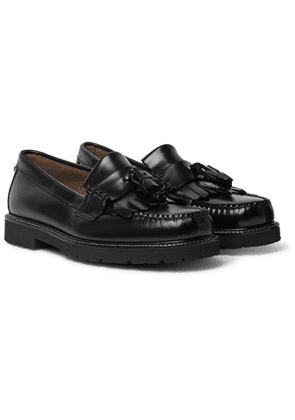 G.H. Bass & Co. - Weejuns 90s Layton II Kiltie Polished-Leather Tasselled Loafers - Men - Black