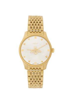 Gucci Gold Slim G-Timeless Bee Watch