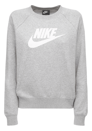 Logo Cotton Blend Fleece Sweatshirt