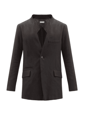 Bed J.w. Ford - Single-breasted Cotton-blend Twill Jacket - Mens - Black