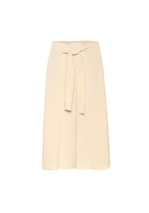 High-rise culottes