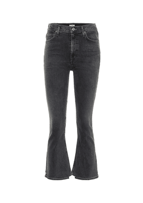 Demy high-rise cropped jeans