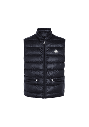 Moncler Gui Navy Quilted Shell Gilet