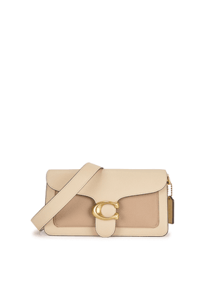 Coach Tabby 26 Cream Leather Shoulder Bag