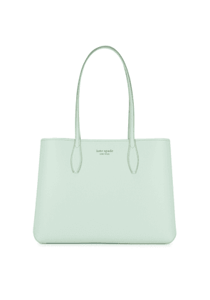 Kate Spade New York All Day Large Mint Grained Leather Tote
